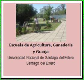 Escuela de Agricultura - UNCuyo - Gral Alvear - Mendoza